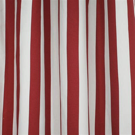 home decor fabric nautical maritime stripes red