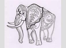 AmyKateWolfe: November 2010 Indian Elephant Henna Drawing