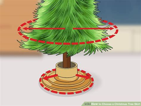 how to choose a christmas tree skirt 11 steps with pictures