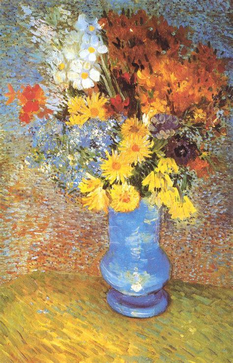 vaso di fiori gogh quot vaso con margherite e anemoni quot di vincent gogh