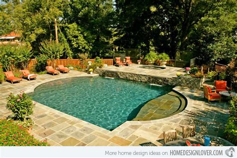 get to know the 10 different shapes of swimming pools
