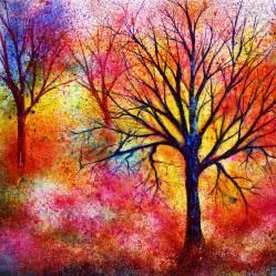 vibrant painting ann marie bone