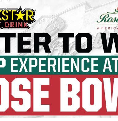 Sweepstakes Regulations Australia - rockstar united oil rose bowl sweepstakes rockstar energy drink