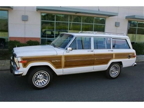 1989 jeep wagoneer for sale 1989 jeep wagoneer limited for sale