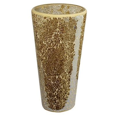gold luster mosaic glass vases pier 1 beautiful