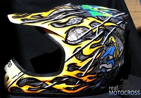 motocross helmet painting helmet painting discount for everyone motocross press