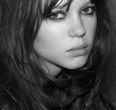 lea seydoux black and white sunday with lea seydoux demeter clarc
