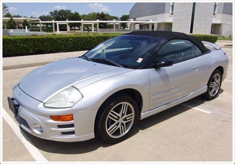 mitsubishi spyder 2000 2000 2005 mitsubishi eclipse spyder convertible tops and