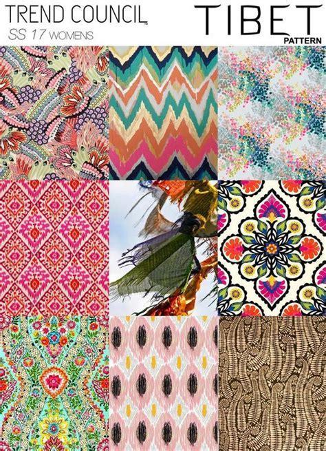 pattern design trends trends trend council tibet print pattern ss