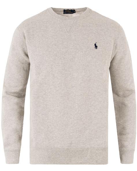 Promo Jaket Sweater Jumper Polos Light Grey Murah ralph mens crew neck sweaters