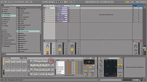 Ableton Racks by Ableton Live Tutorial Creating Custom Drum Racks Step By Step