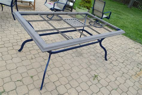 Patio Table Diy Patio Table Transformation With Tutorial Our House Now A Home
