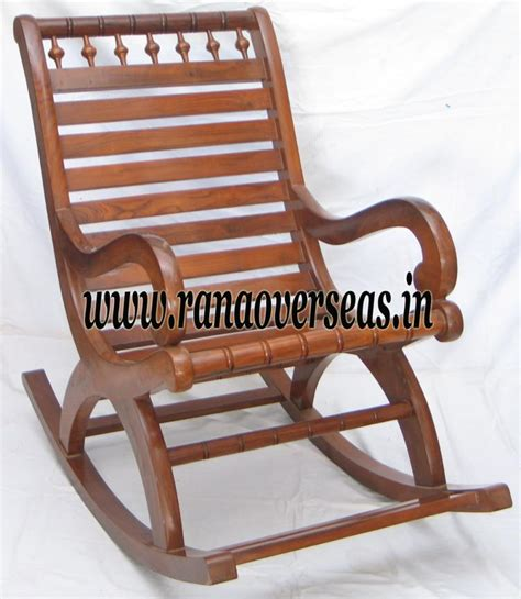 wooden rocking chair rana overseas inc wooden rocking chair
