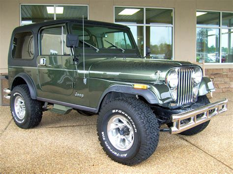 green jeep cj jeep cj 7