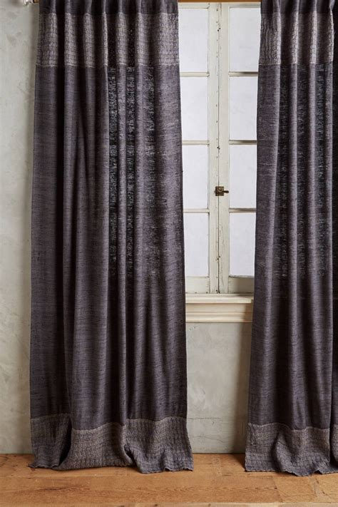 raw silk curtains moroccan home office spare bedroom ideas homegirl london