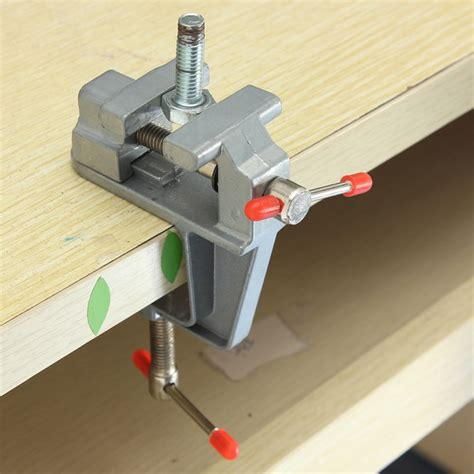 hobby bench vice 35mm aluminum miniature small jewelers hobby cl on