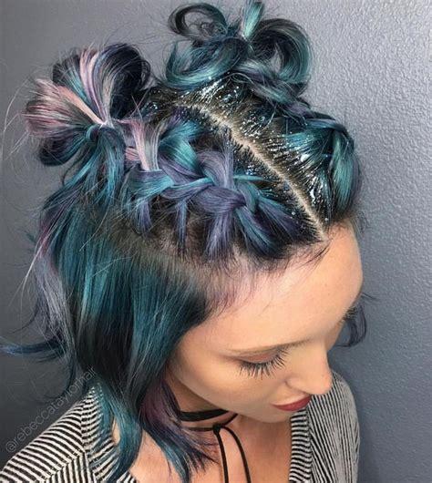 diy grunge hairstyles 17 mejores ideas sobre peinados grunge en pinterest