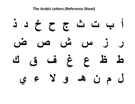 Letter Of Recommendation In Arabic mikahaziq alif ba ta worksheets for