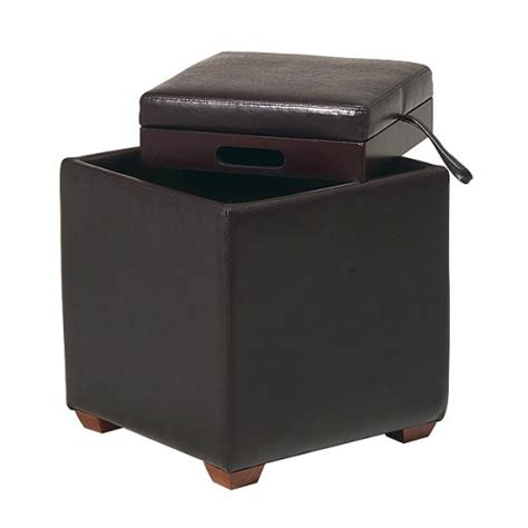Cheap Ottoman Storage Cheap Ottomans And Footstools Rating Review Metro Storage Ottoman With Tray Brown