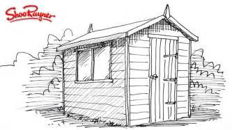 Backyard Shed Blueprints how to draw a garden shed youtube
