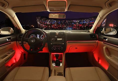 smart car interior accessories smart car decoration accessories for interior fiber optic