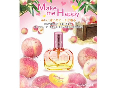 Glieta Perfume Jelly Made In Japan canmake make me happy collection juiceful edu de toilette