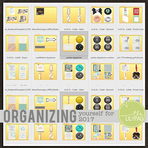 organizing yourself organizing yourself for 2017