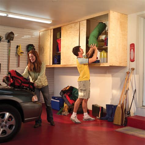 How To Build Garage Cabinets Easy by 61 Easy Diy Garage Storage Organization Projects