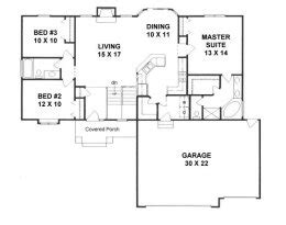 cost to build a 1500 sq ft home house plans from 1400 to 1500 square feet page 1