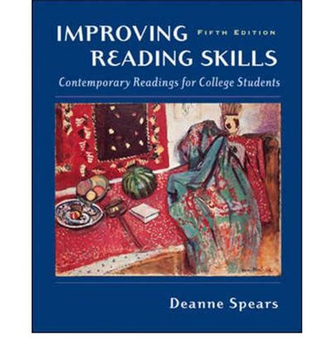 learning faster improving your study techniques books improving reading skills contemporary readings for