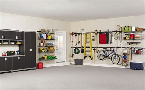 rubbermaid garage organization systems rubbermaid fasttrack garage organization system