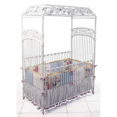 Baby Canopy For Crib White Iron Canopy Crib Gorgeous Nursery Furniture Canopy Crib And