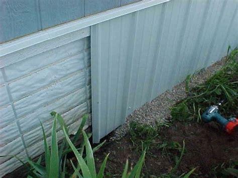 skirting idea mobile home repair home diy