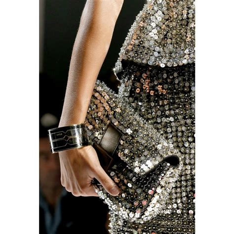 Fendi Sequin And Wool Embellished Purse by Lyst Fendi Baguette Sequin Embellished Shoulder Bag In