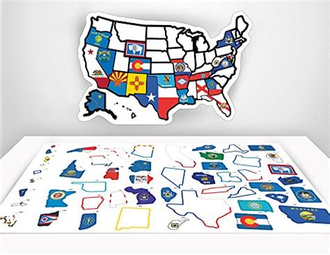 rv united states sticker map free 2 day shipping rv state sticker travel map 13 quot x