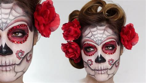 halloween hairstyles day of the dead day of the dead makeup