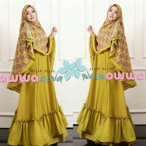 Aiwa Syar I baju model gamis syar i aesha marocco hawwa aiwa