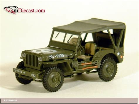 dark green jeep cj hongwell jeep cj 2a closed dark green 950 in 1 43 scale
