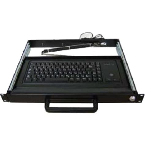 Rack Mount Keyboard Drawer by Liymo 1u Rackmount Drawer With Trackball Keyboard