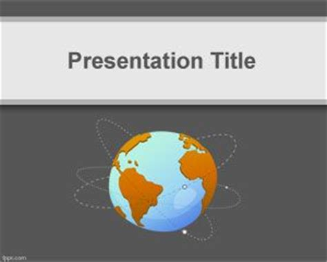 powerpoint design geography power powerpoint template