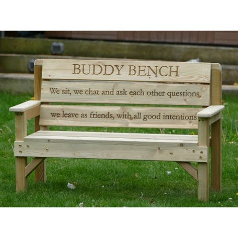 buddy bench sign bench buddy buddy benches