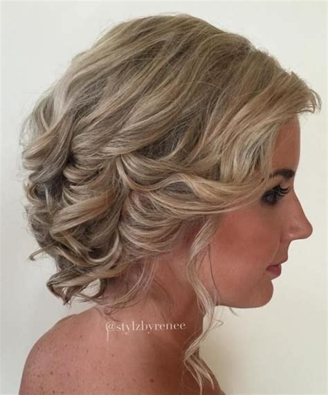 bob hairstyles pinned up 40 best short wedding hairstyles that make you say wow