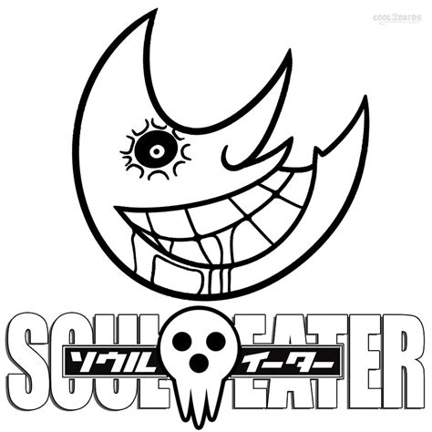 coloring page printable soul eater coloring pages for cool2bkids
