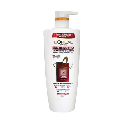 Harga L Oreal Total Repair 5 jual l oreal total repair 5 repairing shoo 650 ml