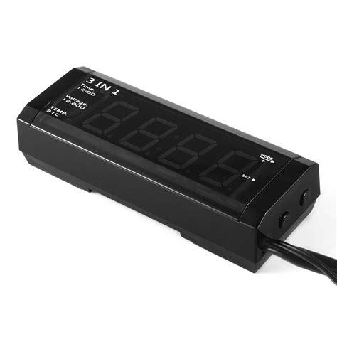 Termometer Lazada xcsource multifuncitonal mobil kit digital pengukur
