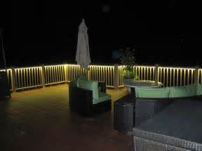 beleuchtung balkon deck and balcony design with led lighting traditional