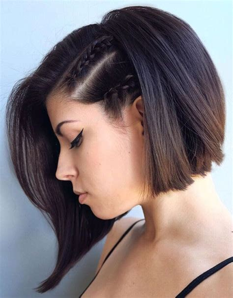 hairstyles for thin braided hair best 25 hairstyles for short hair ideas on pinterest