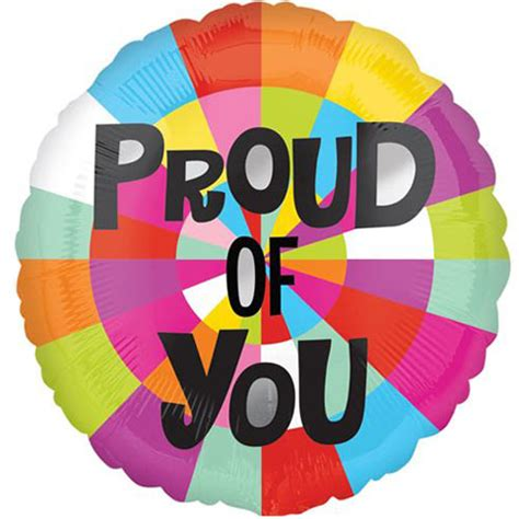 Fringe Home Decor 18 proud of you foil balloon 1 18 proud of you foil