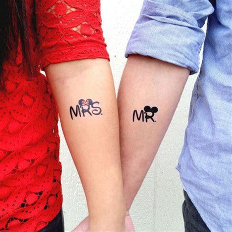 tattoo pour un couple tatouages 30 id 233 es de dessins pour les couples glamour