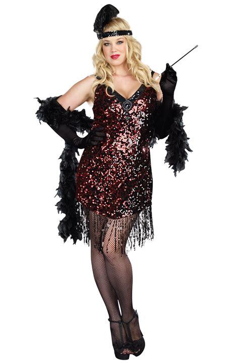 plus size flapper costume 1920s costumes 20s halloween 1920s glamorous flapper plus size halloween costume ebay